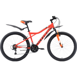 Велосипед Stark 20 Slash 26.1 V оранжевый/чёрный/белый 18