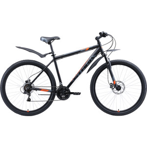 Велосипед Stark Tank 29.1 HD (2020) чёрный/серый/оранжевый 18