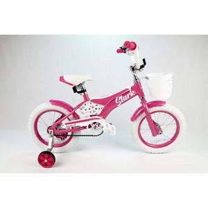 Велосипед Stark 20 Tanuki 14 Girl розовый/белый