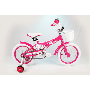 Велосипед Stark 20 Tanuki 16 Girl розовый/белый
