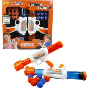 Игрушечное оружие 1Toy Street Battle с мягкими шариками 24 шарика Т13651