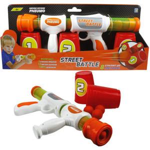 Игрушечное оружие 1Toy Street Battle с мягкими шариками 12 шариков Т13646