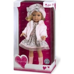 Кукла Arias Elegance Carlota кукла 36 см в платье шапочке ботиночках Т11074