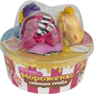 Куклы 1Toy Куколки с мягкими прическами Мороженки сквиши стайл Т16227