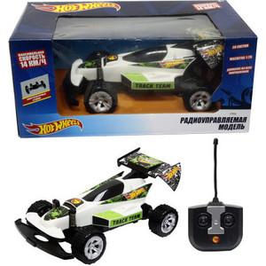 Машинка на радиоуправлении 1Toy багги скорость - 14км/ч со светом на батарейках белая Т10976