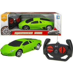 Машинка на радиоуправлении 1Toy Спортавто матовый зеленый Т13852