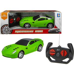 Машинка на радиоуправлении 1Toy Спортавто матовый зеленый Т13848