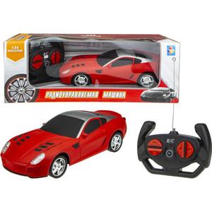 Машинка на радиоуправлении 1Toy Спортавто матовый красный Т13849