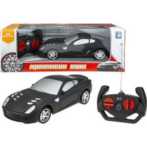 Машинка на радиоуправлении 1Toy Спортавто матовый черный Т13850