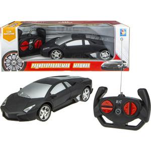 Машинка на радиоуправлении 1Toy Спортавто матовый черный Т13851