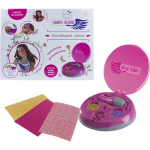 Игровой набор Lukky Бьюти-Дизайн Блестящий стиль для декорирования волос мини-заколками 3 набора с заколками прибор Т16194