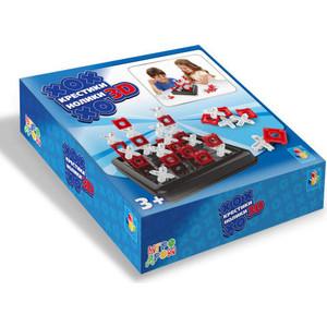 Настольная игра 1Toy Крестики-нолики 3D Игродром Т14945