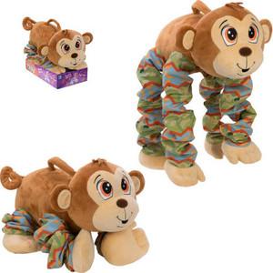 Плюшевая игрушка 1Toy Пружиножки Обезьянка Т13880