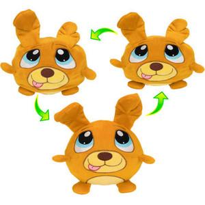 цена на Плюшевая игрушка 1Toy Мняшки Хрумс Бобик Хрумс 18см Т14281
