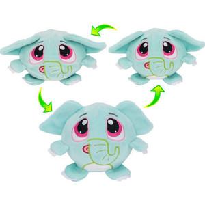 цена на Плюшевая игрушка 1Toy Мняшки Хрумс Слоун Хрумс 18см Т14288