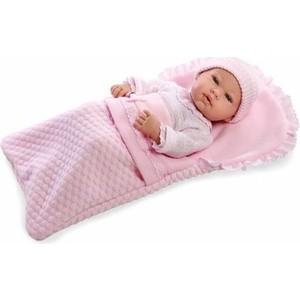 Пупс Arias Elegance Real Baby 42 см в конверте одежде с соской Т11098