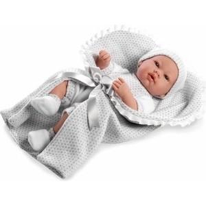 Пупс Arias Elegance Real Baby 42 см мальчик в одежде конверте с соской Т11099