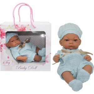 Пупс 1Toy Baby Doll в голубом комбинезоне Т15468