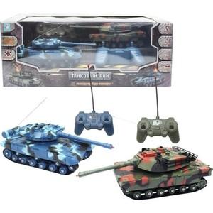 Радиоуправляемые танки 1Toy Танковый бой Т13786 настольные игры тридевятое царство игра настольная танковый бой