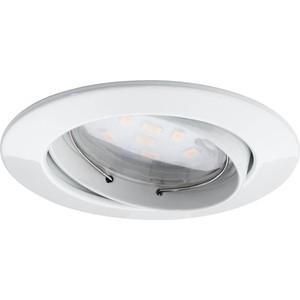 Встраиваемый светодиодный светильник Paulmann 92765 встраиваемый светильник paulmann 92765 3 шт
