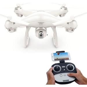 Радиоуправляемый квадрокоптер SJRC S70W 5G белый (GPS, FPV, камера 1080p, дальность передачи изображения- 400 м)