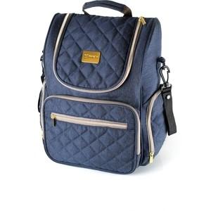 Рюкзак для мамы Farfello F3 джинсовый