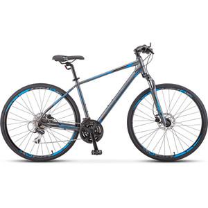 цена на Велосипед Stels Cross 150 D Gent 28 V010 (2019) 17 антрацитовый