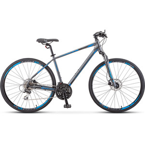 цена на Велосипед Stels Cross 150 D Gent 28 V010 (2019) 18.5 антрацитовый