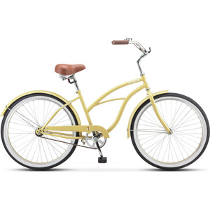 Велосипед Stels Navigator-110 Lady 26 1-sp V010 (2019) 17 желтый-песок цена и фото