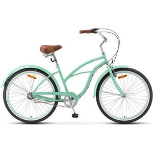 Велосипед Stels Navigator 130 Lady 26 3 sp V010 (2020) 17 зеленый велосипед stels navigator 310 lady 2015