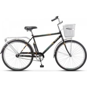 Велосипед Stels Navigator 200 Gent 26 Z010 (2020) 19 черный (С КОРЗИНОЙ) велосипед stels pilot 200 gent 20 v021 2017