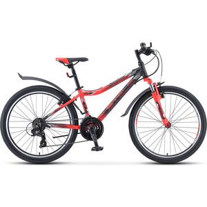 Велосипед Stels Navigator 450 V 24 V030 (2020) 13 черный/неоновый_красный