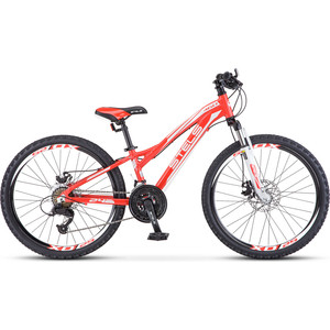 Велосипед Stels Navigator 460 MD 24 K010 (2020) 11 красный велосипед stels navigator 830 md 2017
