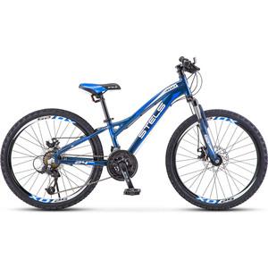 Велосипед Stels Navigator 460 MD 24 K010 (2020) 11 черный/синий велосипед stels navigator 830 md 2017