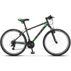 цена на Велосипед Stels Navigator 500 V 26 V030 (2019) 16 черный/зеленый