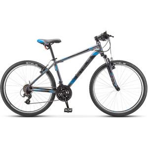 цена на Велосипед Stels Navigator-500 V 26 V030 (2019) 20 серый/синий