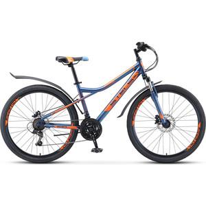 Велосипед Stels Navigator-510 D 26 (V010) 16 темно-синий велосипед stels navigator 650 d 26 v010 2018