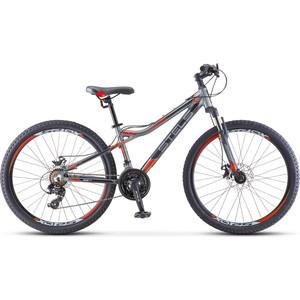 Велосипед Stels Navigator-610 MD 26 (V040) 14 антрацитовый/красный