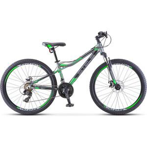 Велосипед Stels Navigator-610 MD 26 (V040) 14 серый/зеленый