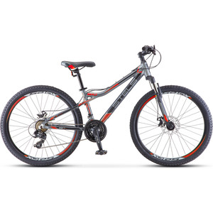 Велосипед Stels Navigator-610 MD 26 (V040) 16 антрацитовый/красный
