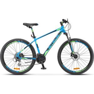Велосипед Stels Navigator-650 D 26 (V010) 16 синий велосипед stels navigator 650 d 26 v010 2018