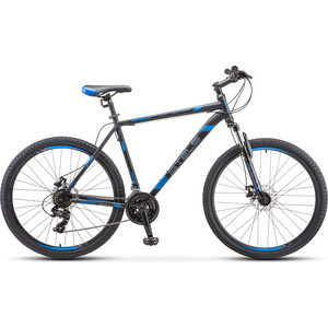 Велосипед Stels Navigator-700 MD 27.5 (F010) 17.5 серебристый/синий