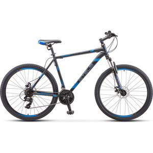 Велосипед Stels Navigator 700 MD 27.5 F010 (2020) 19 серебристый/синий велосипед stels navigator 830 md 2017