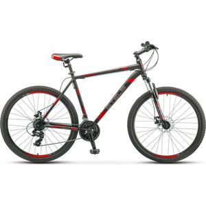 Велосипед Stels Navigator-700 MD 27.5 (F010) 19 черный/красный