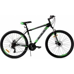Велосипед Stels Navigator-700 MD 27.5 (F010) 21 черный/зеленый