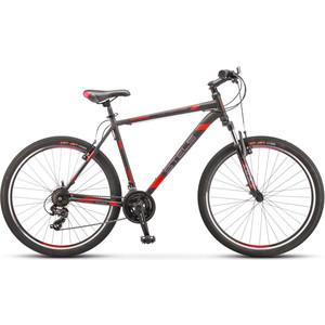 Велосипед Stels Navigator-700 MD 27.5 (F010) 21 черный/красный