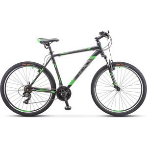 Велосипед Stels Navigator-700 V 27.5 (F010) 17.5 черный/зеленый