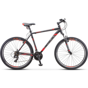 цена на Велосипед Stels Navigator 700 V 27.5 F010 (2019) 17.5 черный/красный