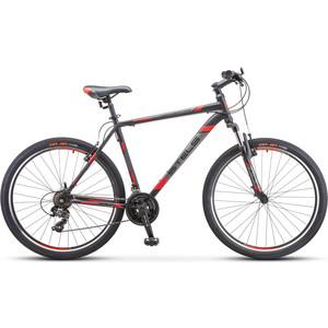 Велосипед Stels Navigator-700 V 27.5 (V020) 21 черный/красный