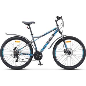 Велосипед Stels Navigator 710 D 27.5 V010 (2020) 16 серый/черный/серебристый велосипед stels xt280 28 v010 2020 23 серый желтый